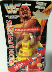 (TAS003201) - Noteworthy Wrestling Superstars Pencil Sharpener - Hulk Hogan, , Pencil Sharpener, Wrestling, The Angry Spider Vintage Toys & Collectibles Store
