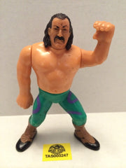 (TAS003247) - WWE WWF WCW LJN Hasbro Wrestling Figure - Jake the Snake Roberts, , Action Figure, Wrestling, The Angry Spider Vintage Toys & Collectibles Store