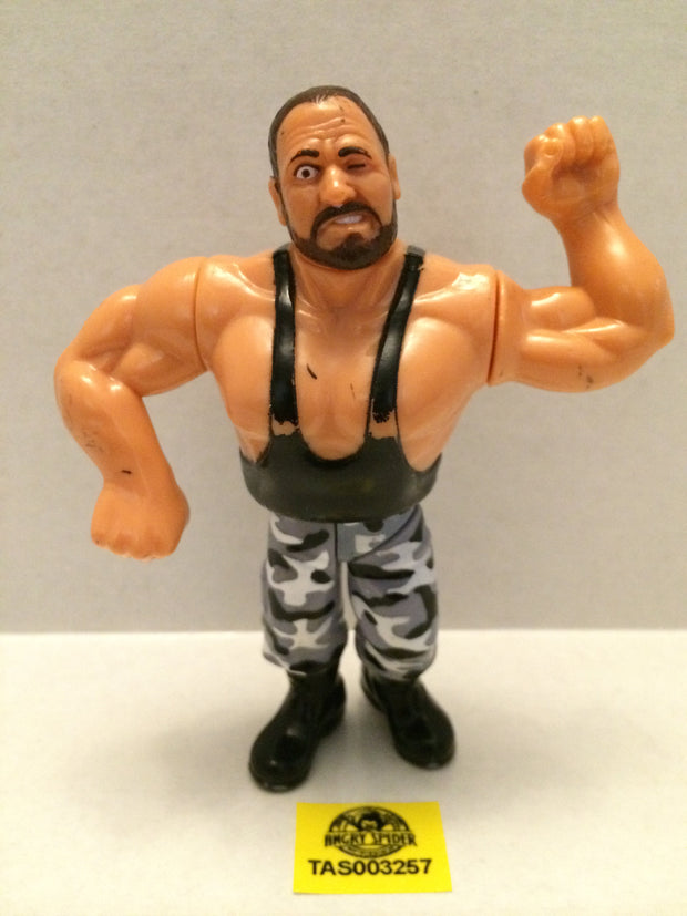 (TAS003257) - WWE WWF WCW LJN Hasbro Wrestling Figure - Bushwackers - Butch, , Action Figure, Wrestling, The Angry Spider Vintage Toys & Collectibles Store