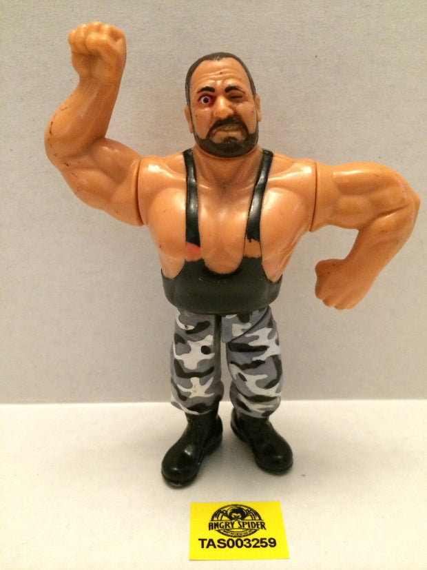 (TAS003259) - WWE WWF WCW LJN Hasbro Wrestling Figure - Bushwackers - Butch, , Action Figure, Wrestling, The Angry Spider Vintage Toys & Collectibles Store