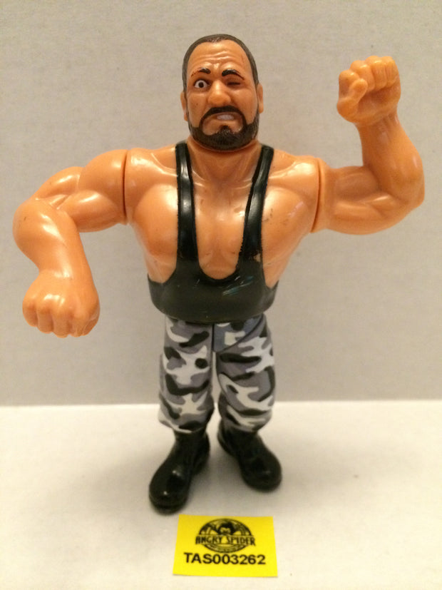 (TAS003262) - WWE WWF WCW LJN Hasbro Wrestling Figure - Bushwackers - Butch, , Action Figure, Wrestling, The Angry Spider Vintage Toys & Collectibles Store