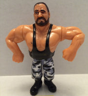(TAS003263) - WWE WWF WCW LJN Hasbro Wrestling Figure - Bushwackers - Butch, , Action Figure, Wrestling, The Angry Spider Vintage Toys & Collectibles Store