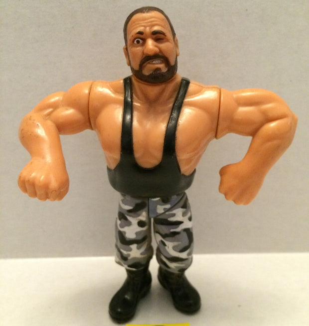 (TAS003264) - WWE WWF WCW LJN Hasbro Wrestling Figure - Bushwackers - Butch, , Action Figure, Wrestling, The Angry Spider Vintage Toys & Collectibles Store