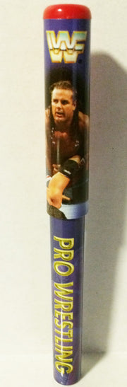 (TAS003350) - WWF WWE Wrestling Pen - The British Bulldog, , Pen, Wrestling, The Angry Spider Vintage Toys & Collectibles Store