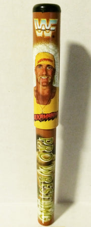 "(TAS003359) - WWF WWE Wrestling Pen - Hulk Hogan ""Hulkamania"", , Pen, Wrestling, The Angry Spider Vintage Toys & Collectibles Store"