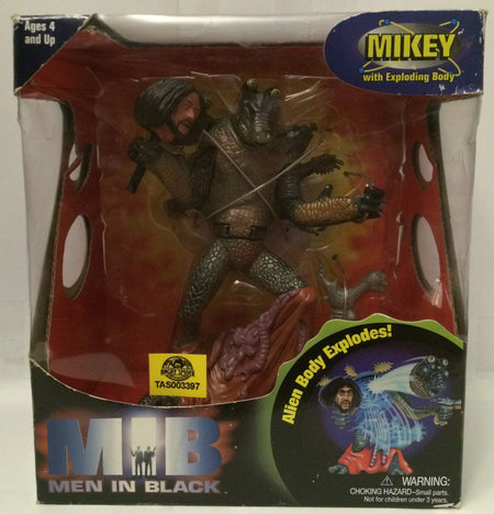 (TAS030151) - 1997 Galoob MIB Men in Black Mikey With Exploding Body, , Dolls, Galoob, The Angry Spider Vintage Toys & Collectibles Store  - 1