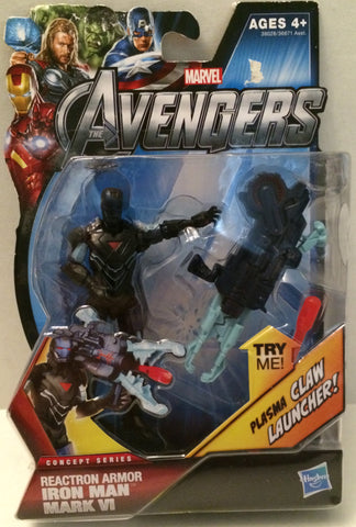 (TAS003408) - Marvel The Avengers - Reactron Armor Iron Man Mark VI, , Action Figure, Iron Man, The Angry Spider Vintage Toys & Collectibles Store  - 1