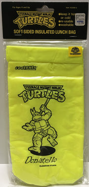 (TAS003558) - 1990 Teenage Mutant Ninja Turtles Soft-Sided Lunch Bag - Donatello, , Lunchbox, TMNT, The Angry Spider Vintage Toys & Collectibles Store  - 1