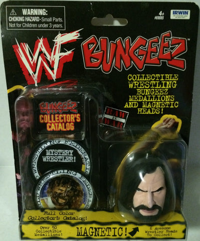 (TAS003609) - Irwin WWF WWE Wrestling Bungeez Magnetic Head - Undertaker, , Magnet, Wrestling, The Angry Spider Vintage Toys & Collectibles Store