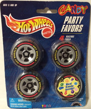 (TAS003621) - Tara Mattel Hot Wheels Candy Party Favors - 4 Racing Tires, , Other, Hot Wheels, The Angry Spider Vintage Toys & Collectibles Store
