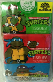 (TAS003643) - Mirage Studio Teenage Mutant Ninja Turtles 2-Ply Tissues, , Bath, TMNT, The Angry Spider Vintage Toys & Collectibles Store