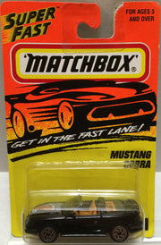 (TAS004029) - Matchbox Die-Cast Car - Mustang Cobra, , Trucks & Cars, Matchbox, The Angry Spider Vintage Toys & Collectibles Store