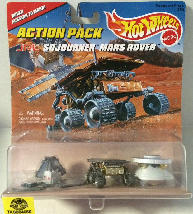(TAS004059) - Mattel Hot Wheels JPL SOJourner Mars Rover Die-Cast Set, , Trucks & Cars, Hot Wheels, The Angry Spider Vintage Toys & Collectibles Store