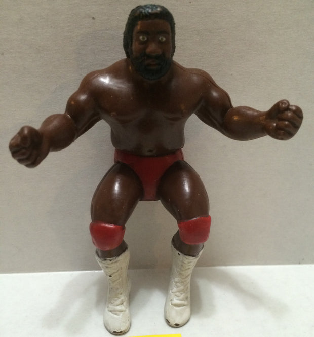 "(TAS004082) - WWE WWF WCW Wrestling Thumb Wrestler Figure - ""JYD"" Junkyard Dog, , Action Figure, Wrestling, The Angry Spider Vintage Toys & Collectibles Store"
