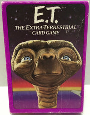 (TAS004164) - E.T. The Extra-Terrestrial Card Game, , Game, E.T, The Angry Spider Vintage Toys & Collectibles Store