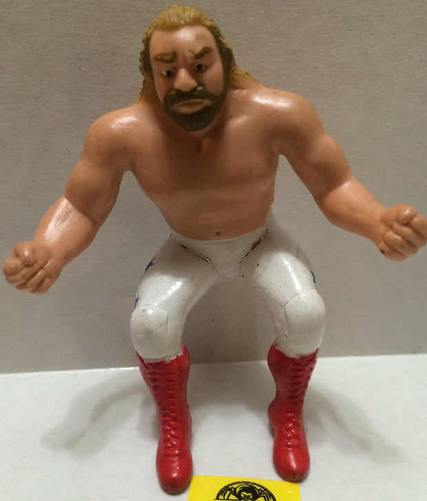 (TAS004212) - WWE WWF LJN Wrestling Thumb Wrestler - Big John Studd, , Action Figure, Wrestling, The Angry Spider Vintage Toys & Collectibles Store