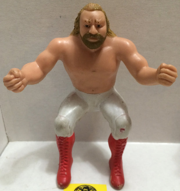"(TAS004213) - WWE WWF WCW Wrestling Thumb Wrestler Figure - ""BJS"" Big John Studd, , Action Figure, Wrestling, The Angry Spider Vintage Toys & Collectibles Store"