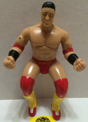 (TAS004306) - WWE WWF WCW Wrestling Thumb Wrestler Figure - Ken Shamrock, , Action Figure, Wrestling, The Angry Spider Vintage Toys & Collectibles Store