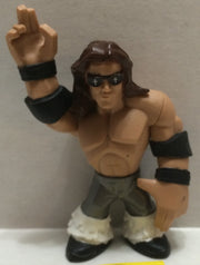 (TAS004400) - WWE WWF WCW Wrestling Rumbler Mini Action Figure - John Morrison, , Action Figure, Wrestling, The Angry Spider Vintage Toys & Collectibles Store