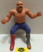 (TAS004419) - WWE WWF WCW Wrestling Thumb Wrestler Figure - The Iron Sheik, , Action Figure, Wrestling, The Angry Spider Vintage Toys & Collectibles Store