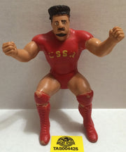 (TAS004425) - WWE WWF WCW Wrestling LJN Thumb Wrestler Figure - Nikolai Volkoff, , Action Figure, Wrestling, The Angry Spider Vintage Toys & Collectibles Store