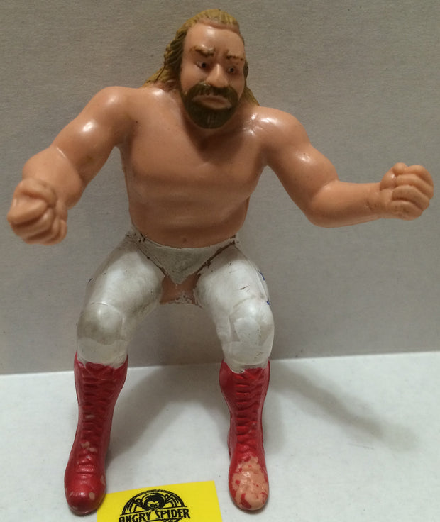 "(TAS004432) - WWE WWF WCW Wrestling Thumb Wrestler Figure - ""BJS"" Big John Studd, , Action Figure, Wrestling, The Angry Spider Vintage Toys & Collectibles Store"