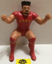 (TAS004450) - WWE WWF WCW Wrestling LJN Thumb Wrestler Figure - Nikolai Volkoff, , Action Figure, Wrestling, The Angry Spider Vintage Toys & Collectibles Store