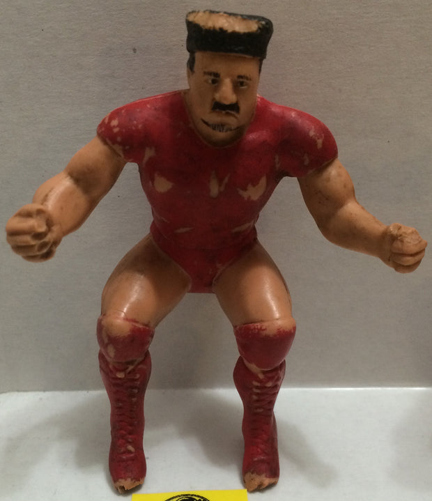 (TAS004465) - WWE WWF WCW Wrestling LJN Thumb Wrestler Figure - Nikolai Volkoff, , Action Figure, Wrestling, The Angry Spider Vintage Toys & Collectibles Store