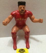 (TAS004469) - WWE WWF WCW Wrestling LJN Thumb Wrestler Figure - Nikolai Volkoff, , Action Figure, Wrestling, The Angry Spider Vintage Toys & Collectibles Store