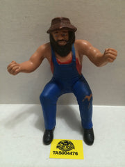 (TAS004476) - WWE WWF WCW Wrestling Thumb Wrestler Figure - Hillbilly Jim, , Action Figure, Wrestling, The Angry Spider Vintage Toys & Collectibles Store