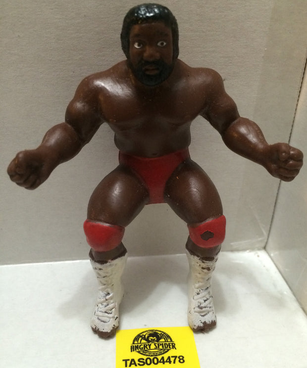 "(TAS004478) - WWE WWF WCW Wrestling Thumb Wrestler Figure - ""JYD"" Junkyard Dog, , Action Figure, Wrestling, The Angry Spider Vintage Toys & Collectibles Store"
