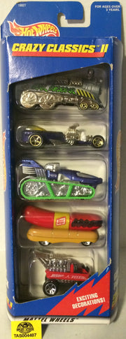 (TAS004487) - 1997 Mattel Hot Wheels Crazy Classics II Gift Pack Die-Cast, , Trucks & Cars, Hot Wheels, The Angry Spider Vintage Toys & Collectibles Store