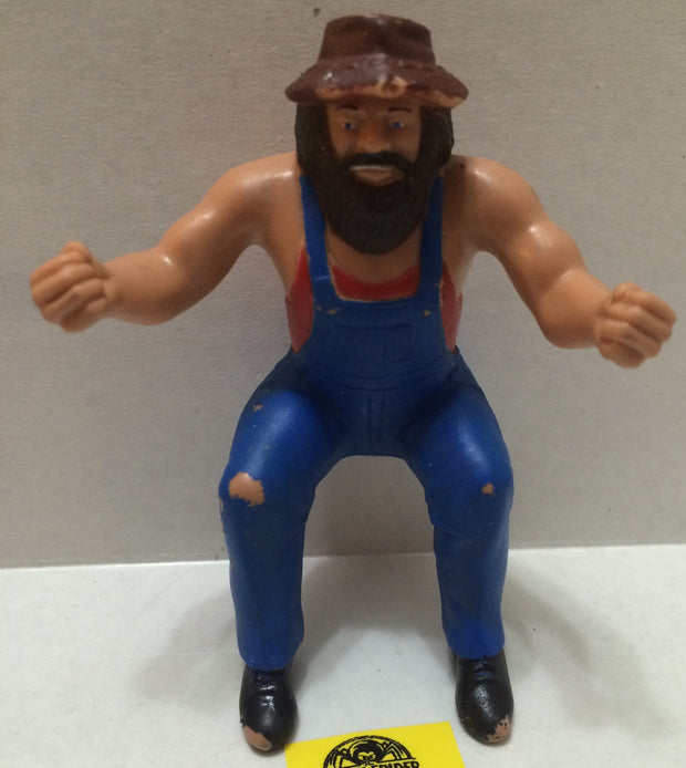 (TAS004498) - WWE WWF WCW LJN Wrestling Thumb Wrestler - Hillbilly Jim, , Action Figure, Wrestling, The Angry Spider Vintage Toys & Collectibles Store