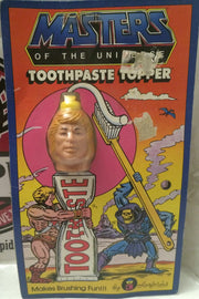(TAS004547) - He-Man Masters of the Universe MOTU Toothpaste Topper - He-Man, , Bath, MOTU, The Angry Spider Vintage Toys & Collectibles Store