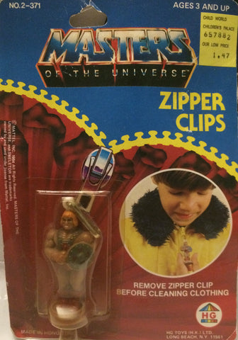 (TAS004627) - MOTU Masters of the Universe Zipper Clips (He-Man), , Other, MOTU, The Angry Spider Vintage Toys & Collectibles Store