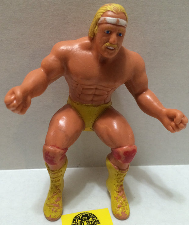 (TAS004666) - WWE WWF WCW LJN Wrestling Thumb Wrestler - Hulk Hogan, , Action Figure, Wrestling, The Angry Spider Vintage Toys & Collectibles Store