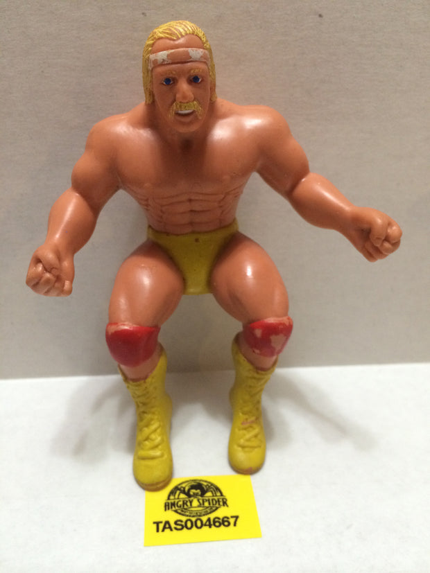 (TAS004667) - WWE WWF WCW Wrestling Thumb Wrestler Figure - Hulk Hogan, , Action Figure, Wrestling, The Angry Spider Vintage Toys & Collectibles Store