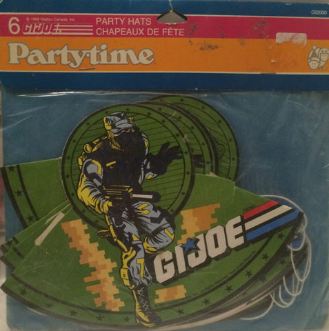 (TAS004674) - 1998 Hasbro - G.I. Joe - Party Hats, , Party, G.I. Joe, The Angry Spider Vintage Toys & Collectibles Store