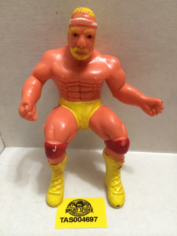 (TAS004697) - WWE WWF WCW Wrestling Thumb Wrestler Figure - Generic Hulk Hogan, , Action Figure, Wrestling, The Angry Spider Vintage Toys & Collectibles Store