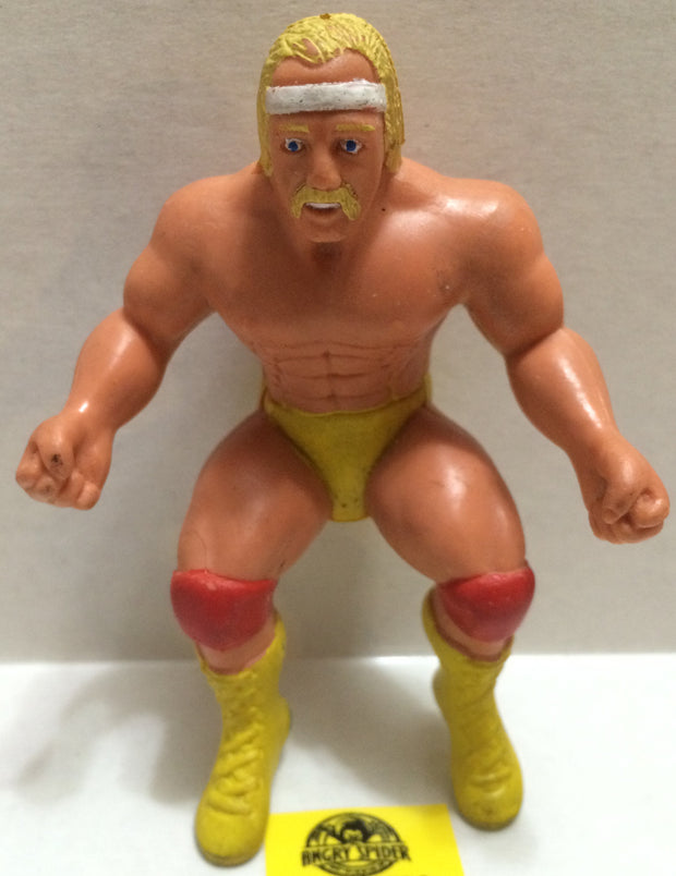 (TAS004706) - WWE WWF WCW Wrestling Thumb Wrestler Figure - Hulk Hogan, , Action Figure, Wrestling, The Angry Spider Vintage Toys & Collectibles Store