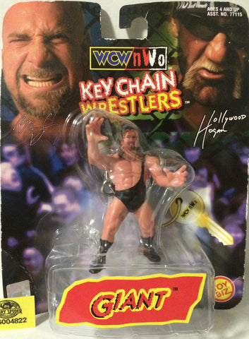 (TAS032049) - Toy Biz WCW Wrestling Keychain - Giant / Big Show, , Keychain, Wrestling, The Angry Spider Vintage Toys & Collectibles Store