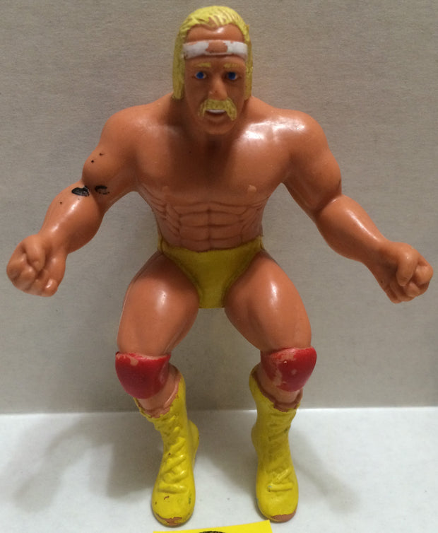 (TAS004923) - WWE WWF WCW Wrestling Thumb Wrestler Figure - Hulk Hogan, , Action Figure, Wrestling, The Angry Spider Vintage Toys & Collectibles Store
