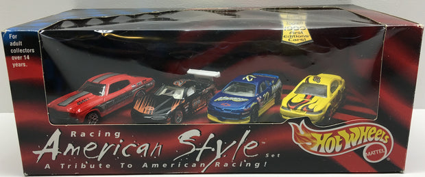 (TAS004953) - 1999 Mattel Hot Wheels Racing Special Ed American Style Set - 4pk, , Trucks & Cars, Hot Wheels, The Angry Spider Vintage Toys & Collectibles Store  - 1