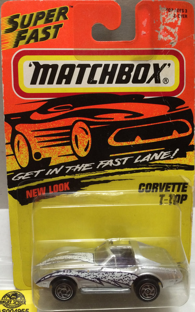 (TAS004955) - Matchbox Die-Cast Car - Corvette T-Top, , Trucks & Cars, Matchbox, The Angry Spider Vintage Toys & Collectibles Store