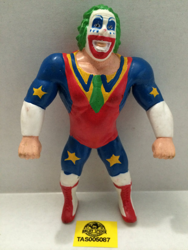 (TAS005087) - WWE WWF WCW nWo Wrestling Bend-Ems Action Figure - Doink