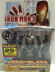 (TAS005207) - 2012 Hasbro Avengers Assemblers - Hypervelocity Iron Man 3, , Action Figure, Marvel, The Angry Spider Vintage Toys & Collectibles Store