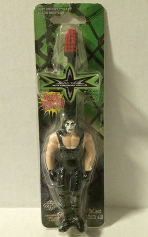 (TAS005282) - WCW Wrestling Bend-Ems Toothbrush – Sting Red, , Bath, Wrestling, The Angry Spider Vintage Toys & Collectibles Store