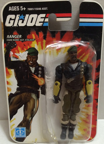 (TAS005428) - 2008 Hasbro Mini G.I. Joe Action Figure - Ranger Sgt. Stalker, , Action Figure, G.I. Joe, The Angry Spider Vintage Toys & Collectibles Store