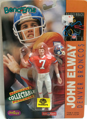 (TAS005479) - 1992 Just Toys NFL Quarterback Club Poseable Bend-em - John Elway, , Action Figure, NFL, The Angry Spider Vintage Toys & Collectibles Store
