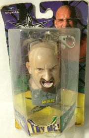 (TAS005505) - 1999 Trendmasters WCW Screamin' Superstar Clip-on - Goldberg, , Other, Wrestling, The Angry Spider Vintage Toys & Collectibles Store